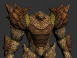Giant monster 3d model