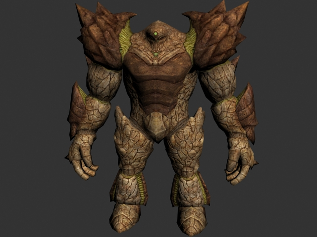 Giant monster 3d model 3ds max files free download for Monster 3d model