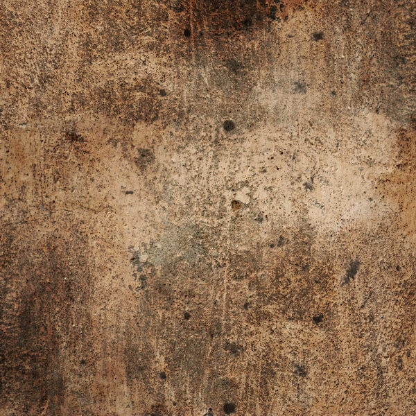 Highly detailed texture of brown concrete, roughness of the surface ...