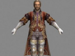 Cid Bunansa in Final Fantasy 3d model