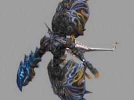 Zeromus in Final Fantasy 3d model