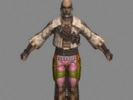 Reddas in Final Fantasy XII 3d model