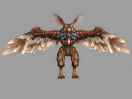 Owlbear in Final Fantasy XII 3d model