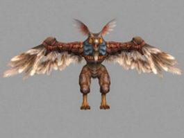 Owlbear in Final Fantasy XII 3d model