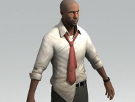 Louis - IT analyst Left 4 Dead character 3d model