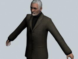 Wallace Breen - Half-Life character 3d model