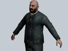Father Grigori - Half-Life character 3d model