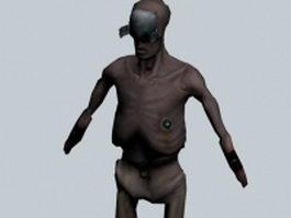 Stalker - Half-Life character 3d model