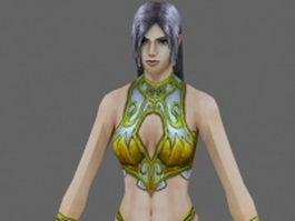 Fantasy women 3d model