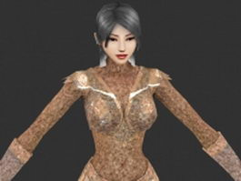 Good sorceress 3d model