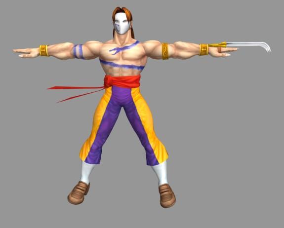 Vega Street Fighter Character 3d Model 3ds Max Files