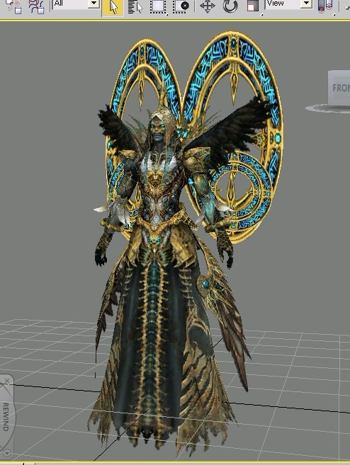 Dark Sorcerer King 3d Model 3ds Max Object Files Free