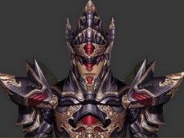 Chaos warrior 3d model