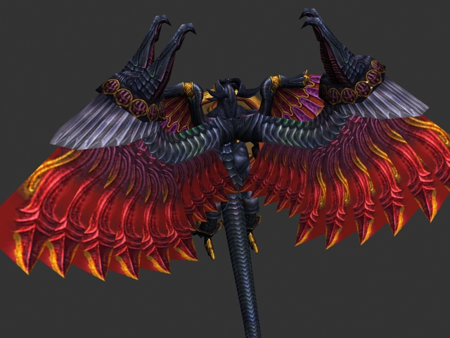 Armored Bird Humanoid 3d Model 3ds Max Files Free Download