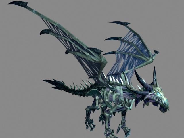 Bone Dragon 3d Model 3ds Max Files Free Download