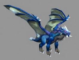 Dragon Kalecgos 3d model
