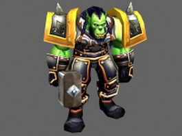 Thrall - WoW character 3d model