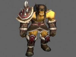 Rexxar Remar - WoW character 3d model