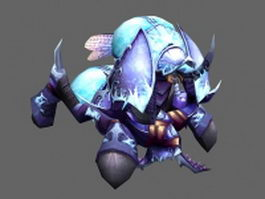 Crypt lord Anubarak - WoW character 3d model