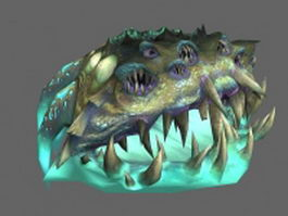 WoW aberration creature 3d model