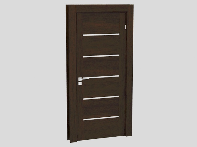 Solid Wood Door 3d Model 3ds Max Files Free Download