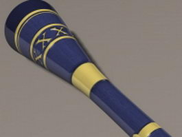 Lance of the moon 3d model