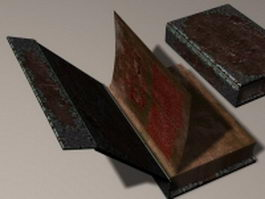 Book of black magic 3d model