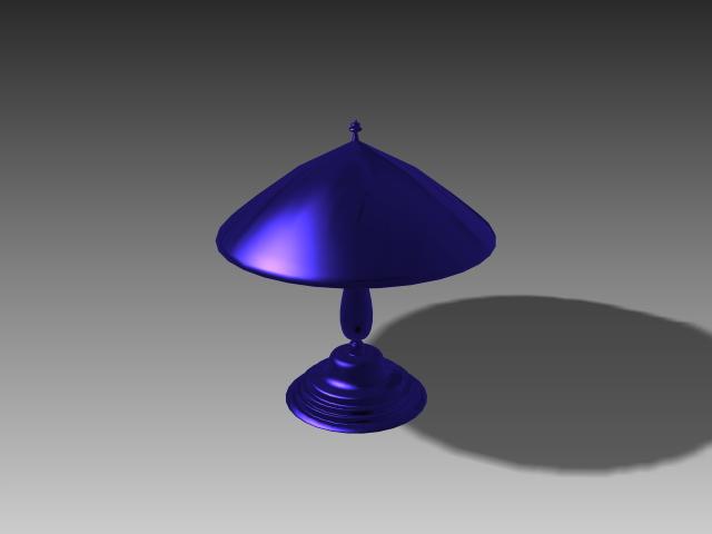 Umbrella Table Lights 3d Model 3d Studio 3ds Max Autocad