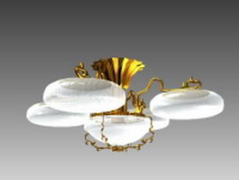 Pendant light fixtures 3d model