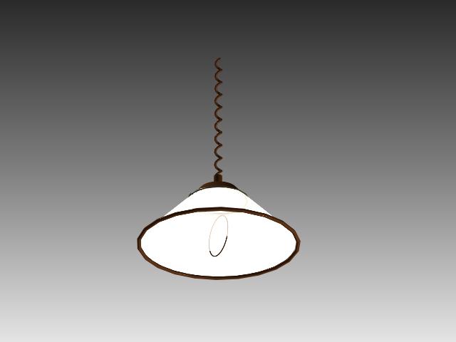 Pull down pendant light 3d model 3d studio3ds maxautocad drawing pull down pendant light 3d model mozeypictures Gallery