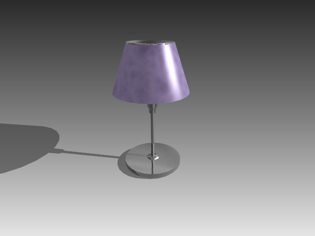 Modern Table Lamp 3d Model 3d Studio 3ds Max Autocad Drawing Files Free Download Modeling