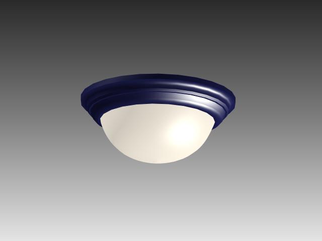 Flush Mount Ceiling Lamp 3d Model 3D Studio 3ds Max