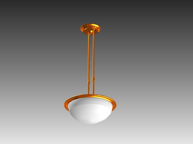 Indoor Pendant Lighting 3d Model 3D Studio3ds MaxAutoCAD