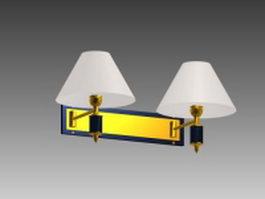 Bedside wall lamp 3d model