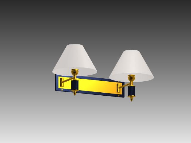 Bedside Wall Lamp 3d Model 3d Studio 3ds Max Autocad