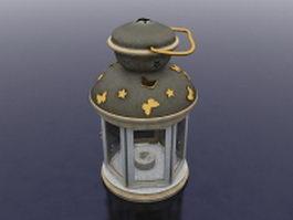 Lantern candle holder 3d model