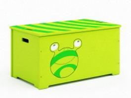 Toy storage box 3d model