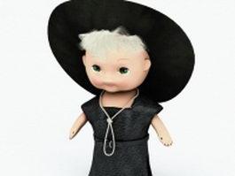 Boy doll 3d model