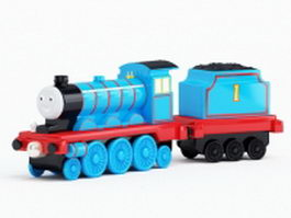 Toy train sets 3d model