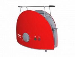 Bosch toaster 3d model
