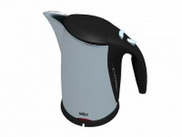 Braun water kettle 3d model
