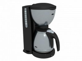 Braun coffee maker 3d model