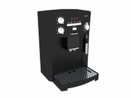 Electrolux coffee machine 3d model