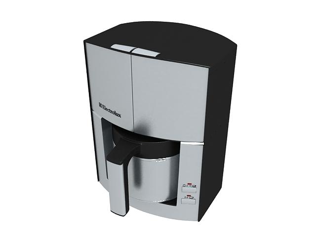 Electrolux Espresso Coffee Maker 3d Model 3ds Max Files