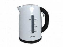 Krups water kettle 3d model