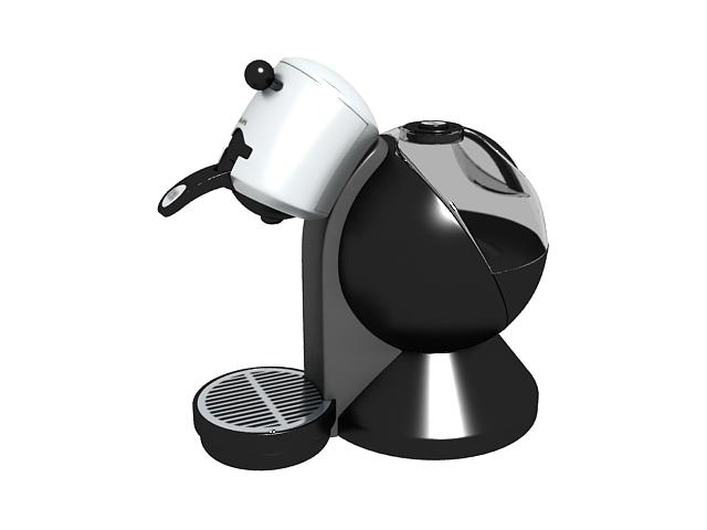 Capresso Coffee Maker 3d Model 3ds Max Files Free Download