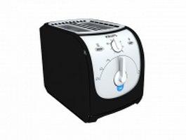 Krups toaster 3d model