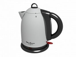 Moulinex water kettle 3d model