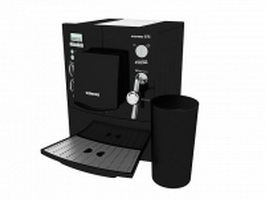 Siemens Espresso machine 3d model