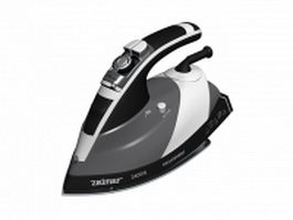 Electric steam iron 3d model